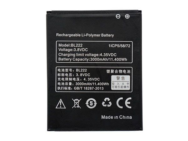 LAPTOP-BATTERIE Lenovo BL222