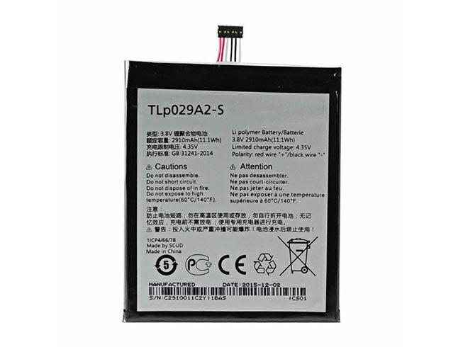 LAPTOP-BATTERIE Alcatel TLP029A2-S