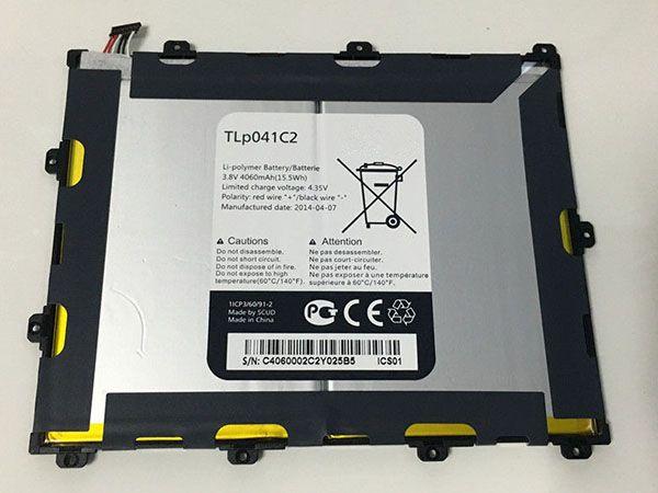 LAPTOP-BATTERIE Alcatel TLp041C2