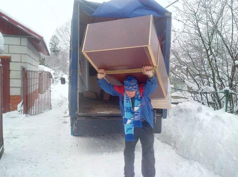 Перевозка на дачу вещей - быстро и надежно