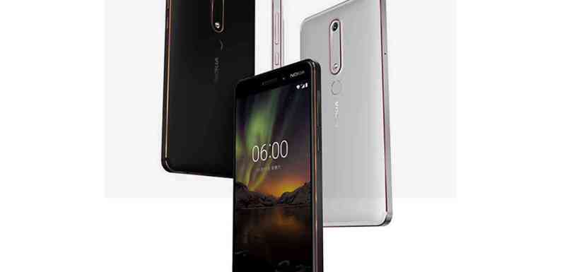Nokia 6( 2018) With Rear Fingerprint Sensor ,Snapdragone 630 Launched