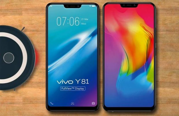 Vivo Y81 Launched In India,With 6.22 Inch Notched Display And 3260 Battery