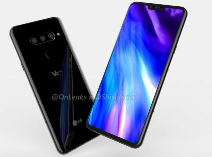 LG V40 ThinQ with 6.4-inch OLED Display And Five Cameras