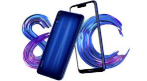 honor 8c with 6.26 inch Notched display