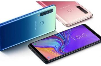 samsung Galaxy A9 (2018) with Quad Rear cameras And 6.3 Inch Display
