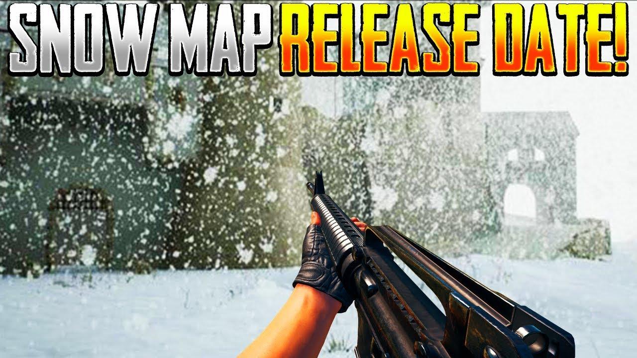 PUBG Vikendi Snow Map Launch