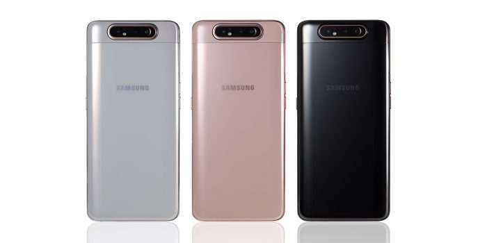 Samsung Galaxy A80 With Rotating Cameras