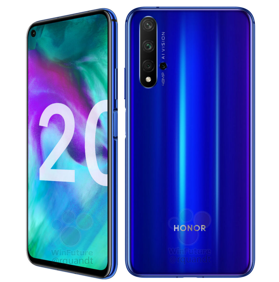 Honor 20 With Quad Rear Camera