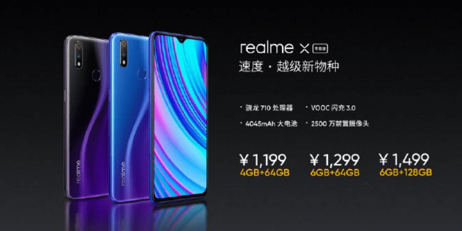 Realme X Lite With Pop Selfie Camera