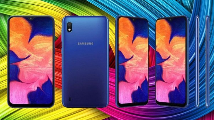 Samsung Galaxy A10e With Infinity-V-Display