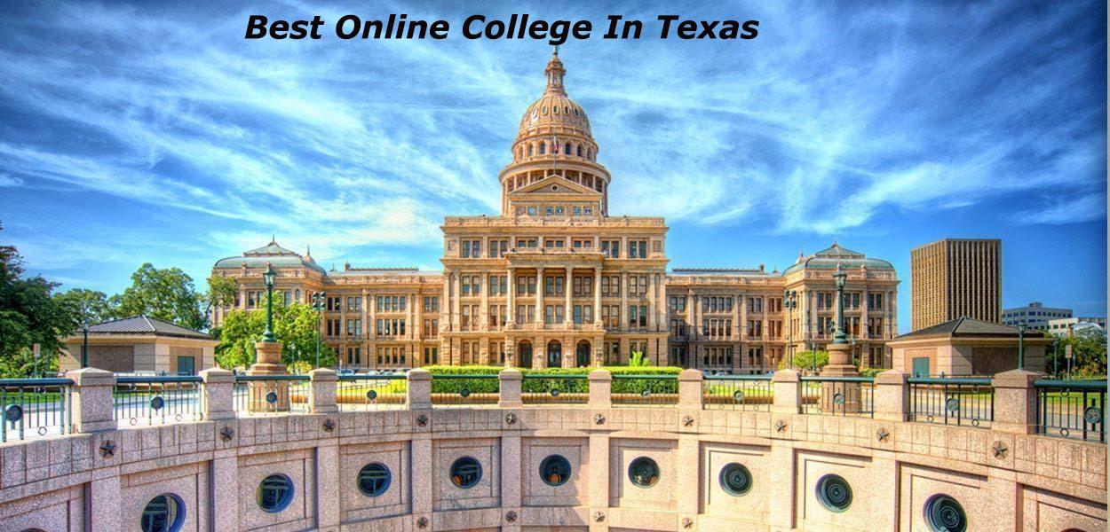 Best Online College In Texas
