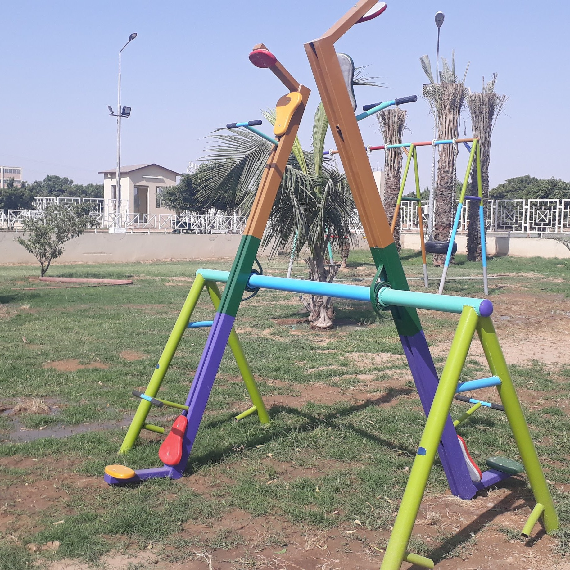 fiberglass swing and playground equipment