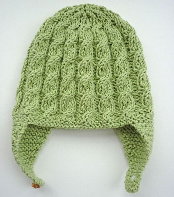 Baby Aviator Hat Knitting Pattern