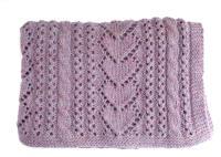 Heart Baby Blanket Knitting Pattern | A Knitting Blog