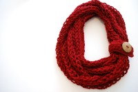 Knit Infinity Scarf Pattern | Car Interior Design