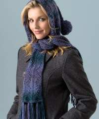 Hooded Scarf Knitting Pattern | A Knitting Blog