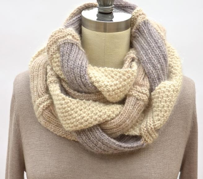 Knitting Loom Infinity Scarf Tutorial