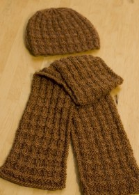 Reversible Knit Scarf Pattern | A Knitting Blog