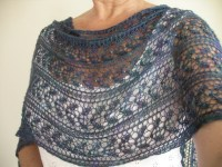 Lace Shawl Knitting Pattern
