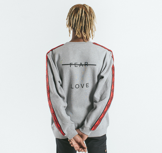 AK X UMBRO Fear Love Fleece Crewneck 15