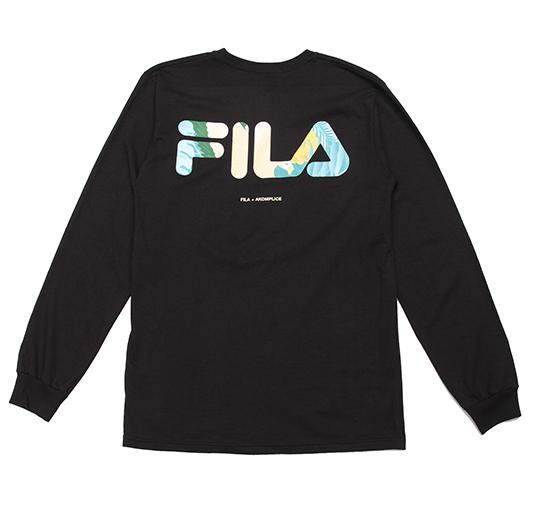 AK + FILA Flamingo LS Tee 4