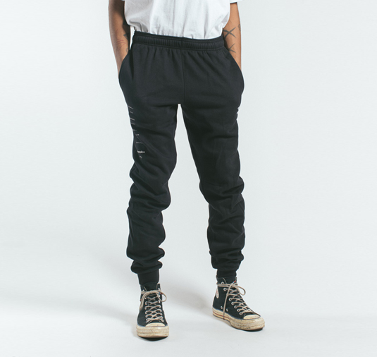 AK X UMBRO Transform Sueded Fleece Joggers