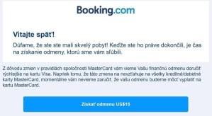 booking potvrdzujuci mail