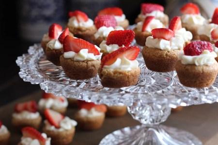desserts de fête - tarte à la fraise