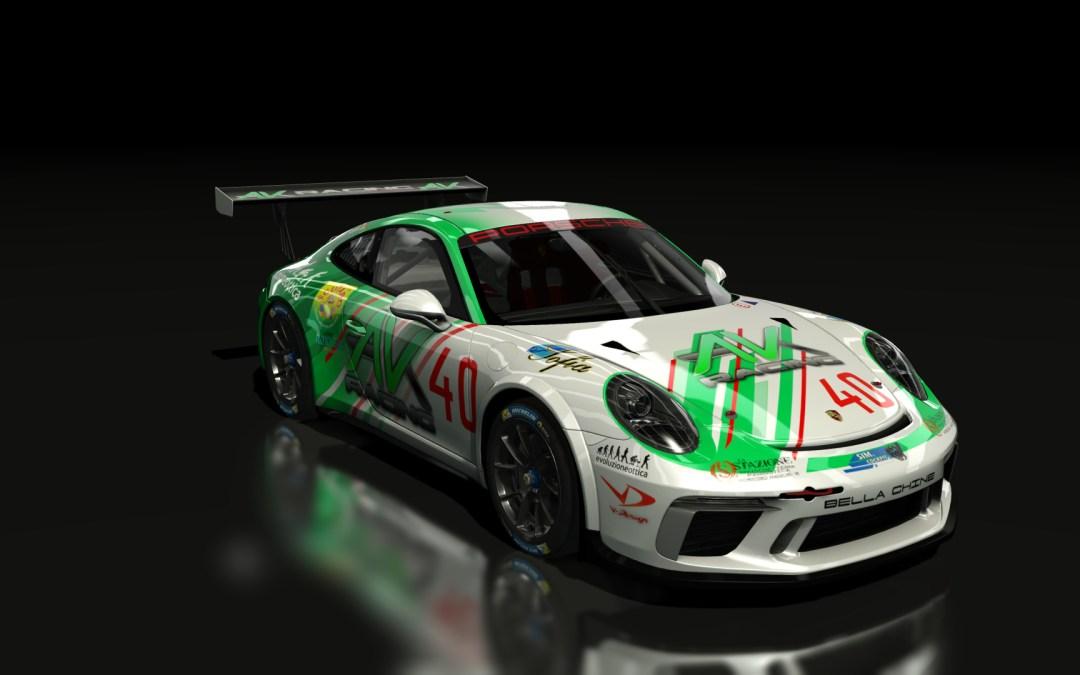 Porsche e-Carrera CUP – 2 A.K.R. qualificati