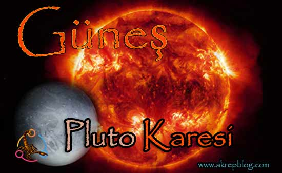 Güneş Pluto Karesi ve Etkileri