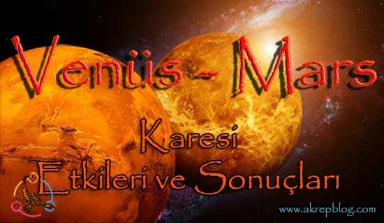 Venüs Mars Karesi ve Etkileri
