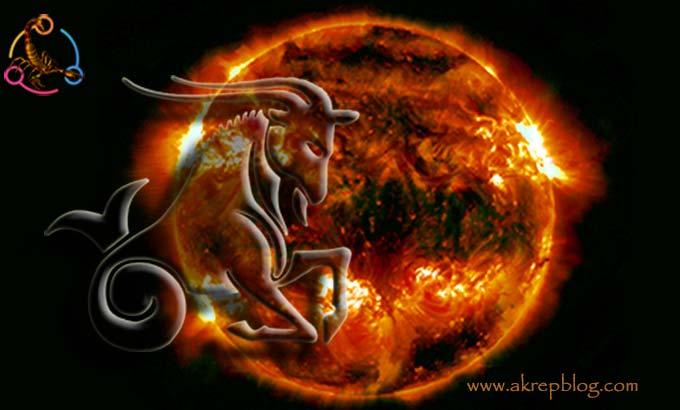 Güneş Oğlak Burcunda