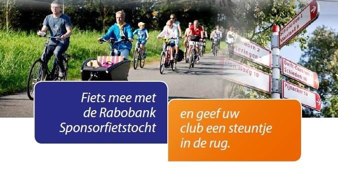 Fiets jij 10 Juni ook mee met de Rabobank fietsdag?