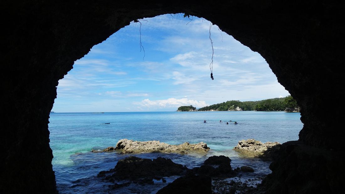 Image result for bolae hot cave davao occidental