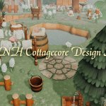 Best Acnh Cottagecore Design Ideas Tips Country Rural Path Clothes Custom Design Codes In Animal Crossing