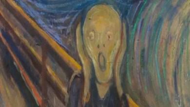 """Photo of لغز حير العلماء أكثر من 120 عاماً .. ما هو سر البقعة الغامضة في لوحة """" الصرخة """" ؟"""