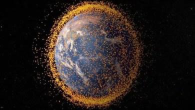 """صورة الاستفادة من النفايات الفضائية بإرسالها إلى كوكب """" المريخ """""""