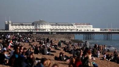 صورة بريطانيا تسجل درجات حرارة أعلى من السعودية !