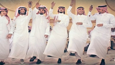 Photo of بالفيديو .. رجال يرقصون وسط النساء بحفل زفاف في السعودية
