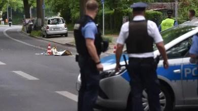 Photo of ألمانيا : الشرطة تطلق النار على لاجئ سوري مخمور هددها بسكين