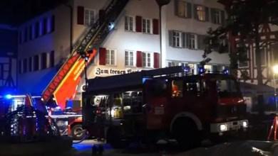 Photo of ألمانيا : وفاة شخصين جراء حريق في مركز لإيواء اللاجئين ( فيديو )