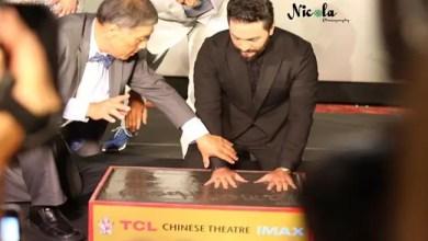 صورة مجلة أمريكية تفضح تامر حسني : المسرح الصيني أعلن شراء المطرب للبصمة