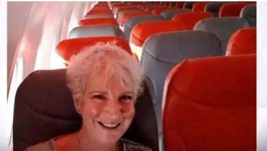 صورة طائرة تقلع براكبة واحدة من اسكتلندا إلى اليونان !