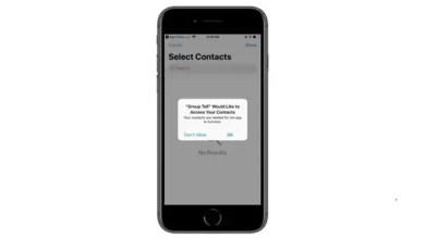 "Photo of هواتف "" آي فون "" عرضة لتصيد البيانات عبر دليل العناوين"