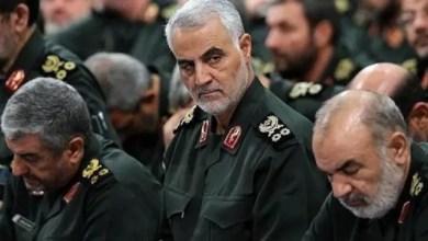 صورة سليماني في بغداد للترويج لتشكيل حكومة عراقية جديدة تحظي بموافقة إيران