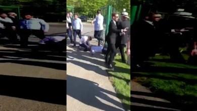 Photo of في إيرلندا .. حفل زفاف يتحول إلى حلبة مصارعة ! ( فيديو )