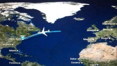 Photo of طائرة أمريكية تعود أدراجها بعد قطع نصف مسافة الرحلة !