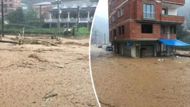 """Photo of الفيضانات تجتاح مدينة في تركيا .. و رئيس إحدى البلديات عبر حسابه في فيسبوك : """" يا الله ساعدنا نحن نغرق """" ( فيديو )"""