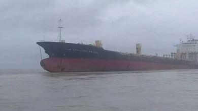"""صورة ميانمار : كشف غموض """" سفينة أشباح """" غير مأهولة"""