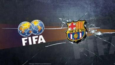 """صورة الـ """" فيفا """" يوجه صفعة لرئيس رابطة الدوري الإسباني"""